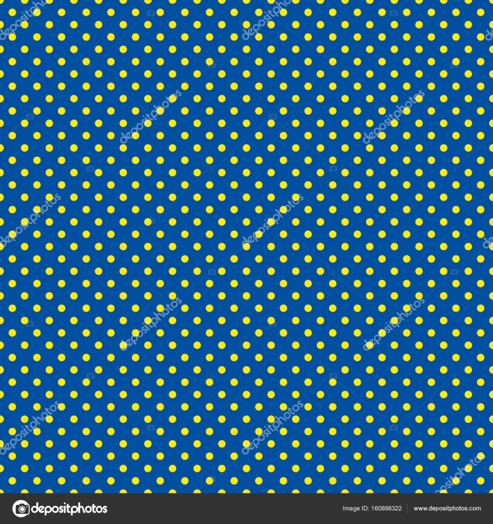 The Polka Dot Pattern Seamless Vector Illustration With Round