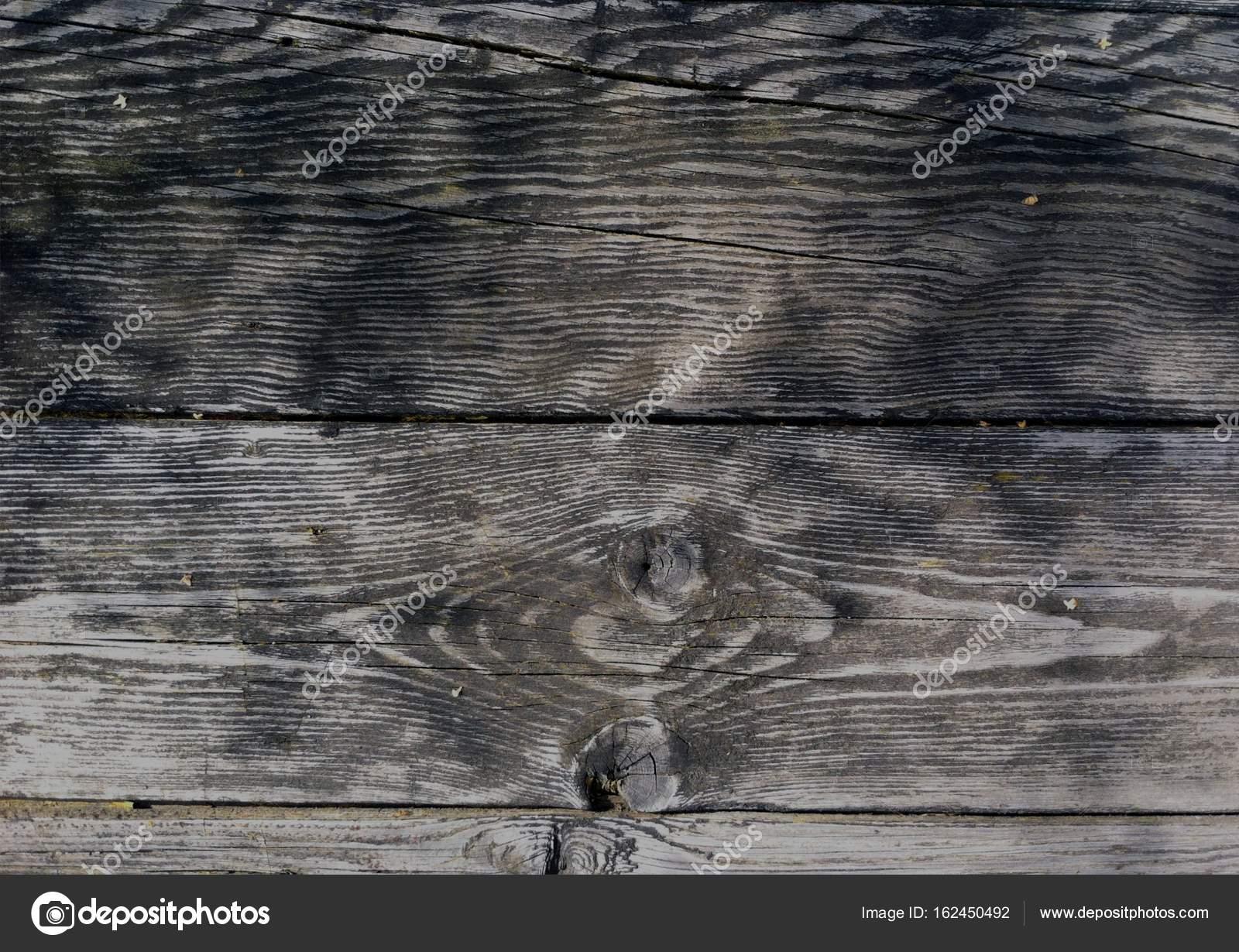 Dunklen hölzernen Brettern, Dielen. Natürlich gealterte Holz ...