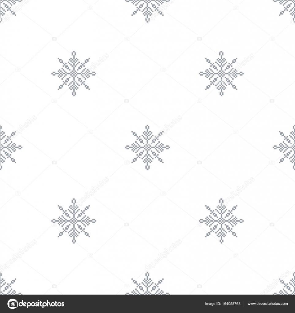 Patrones De Copos De Nieve Para Imprimir Patrón Transparente Con