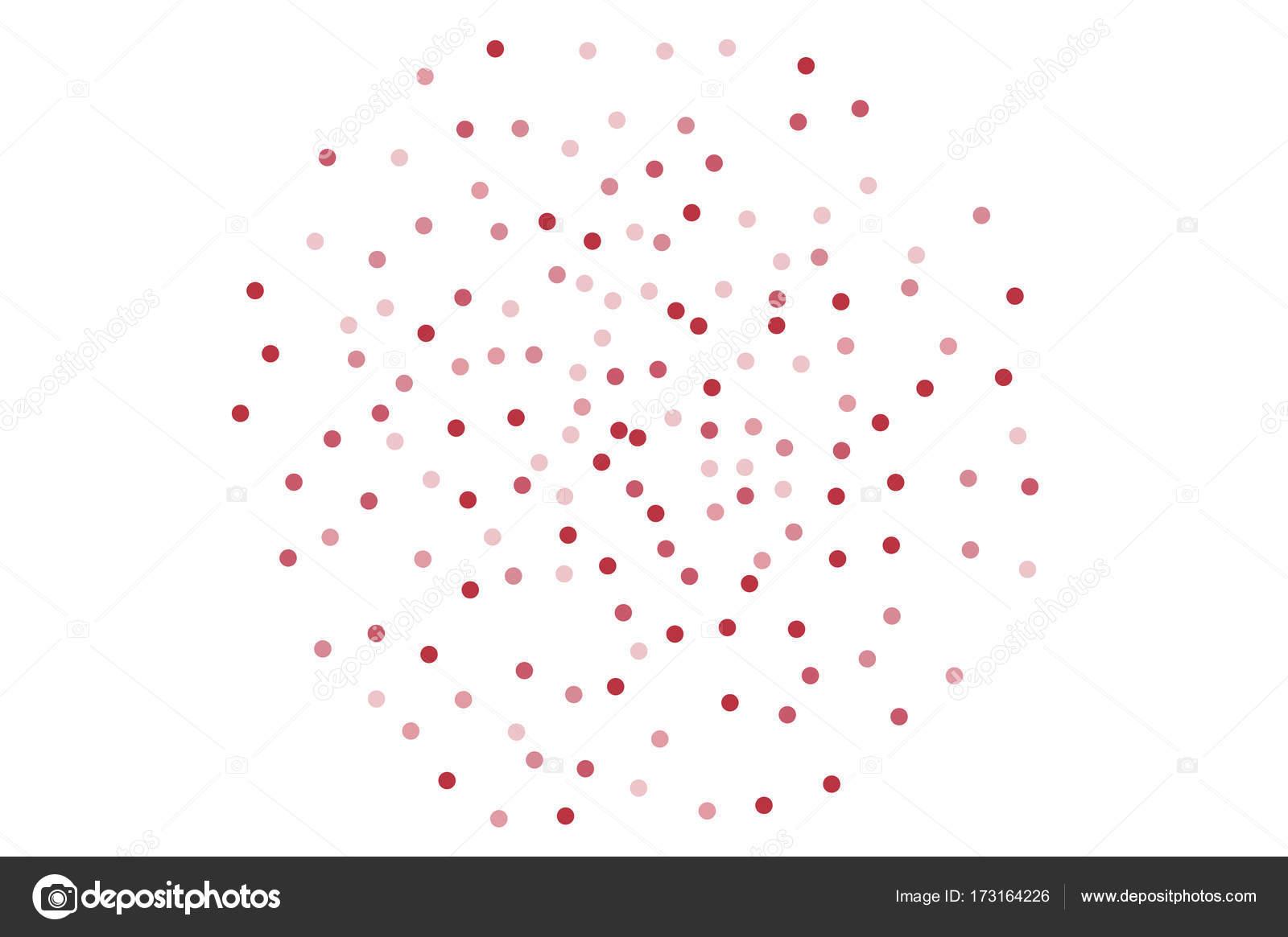 Fondo con rosa purpurina, confeti. Al azar, caóticas puntos ...