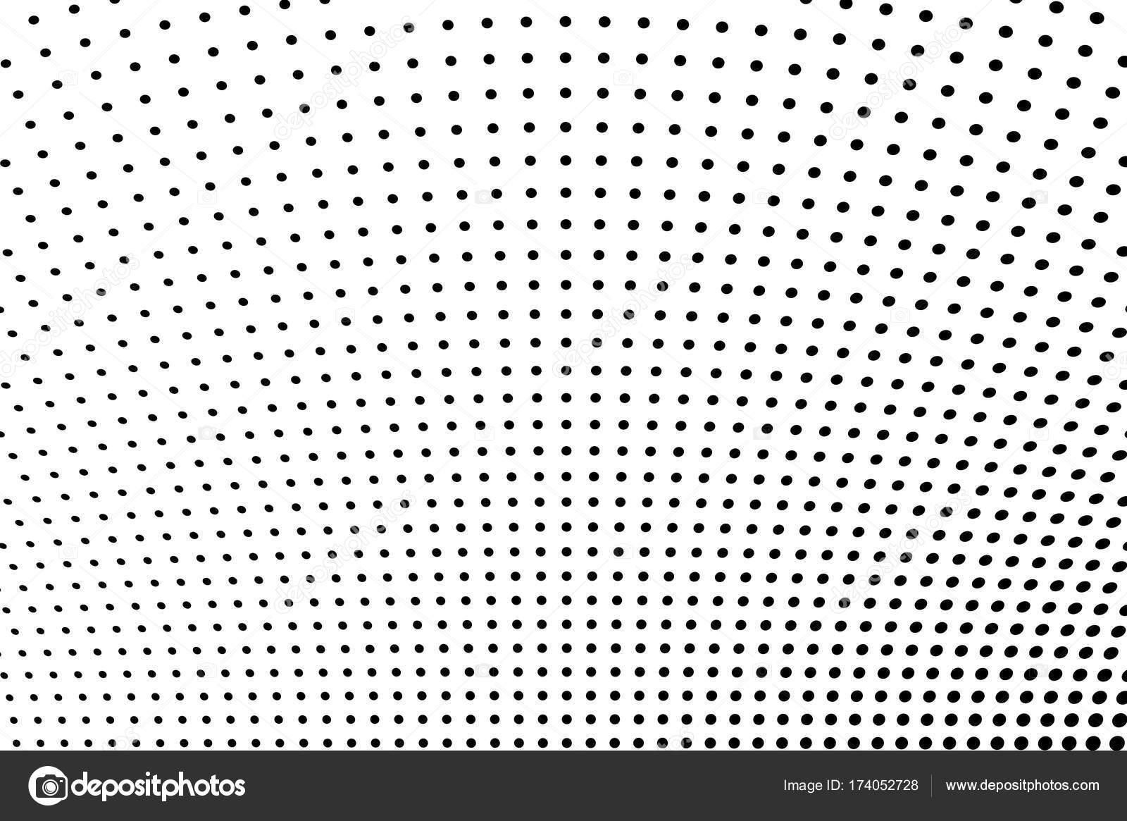 Abstrakte futuristische Halbton Muster. Comic-Hintergrund ...