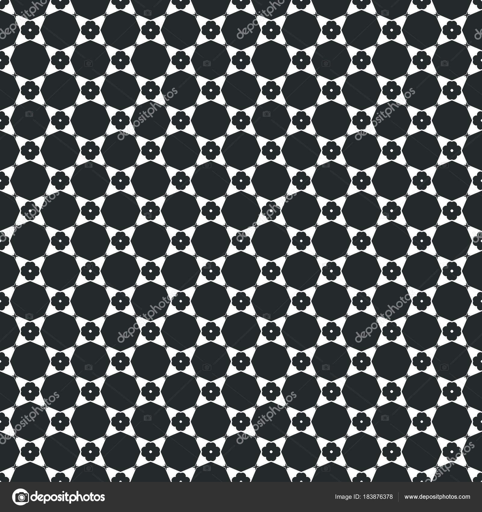 Antico Disegno Geometrico In Ripetizione Stampa Dei Tessuti