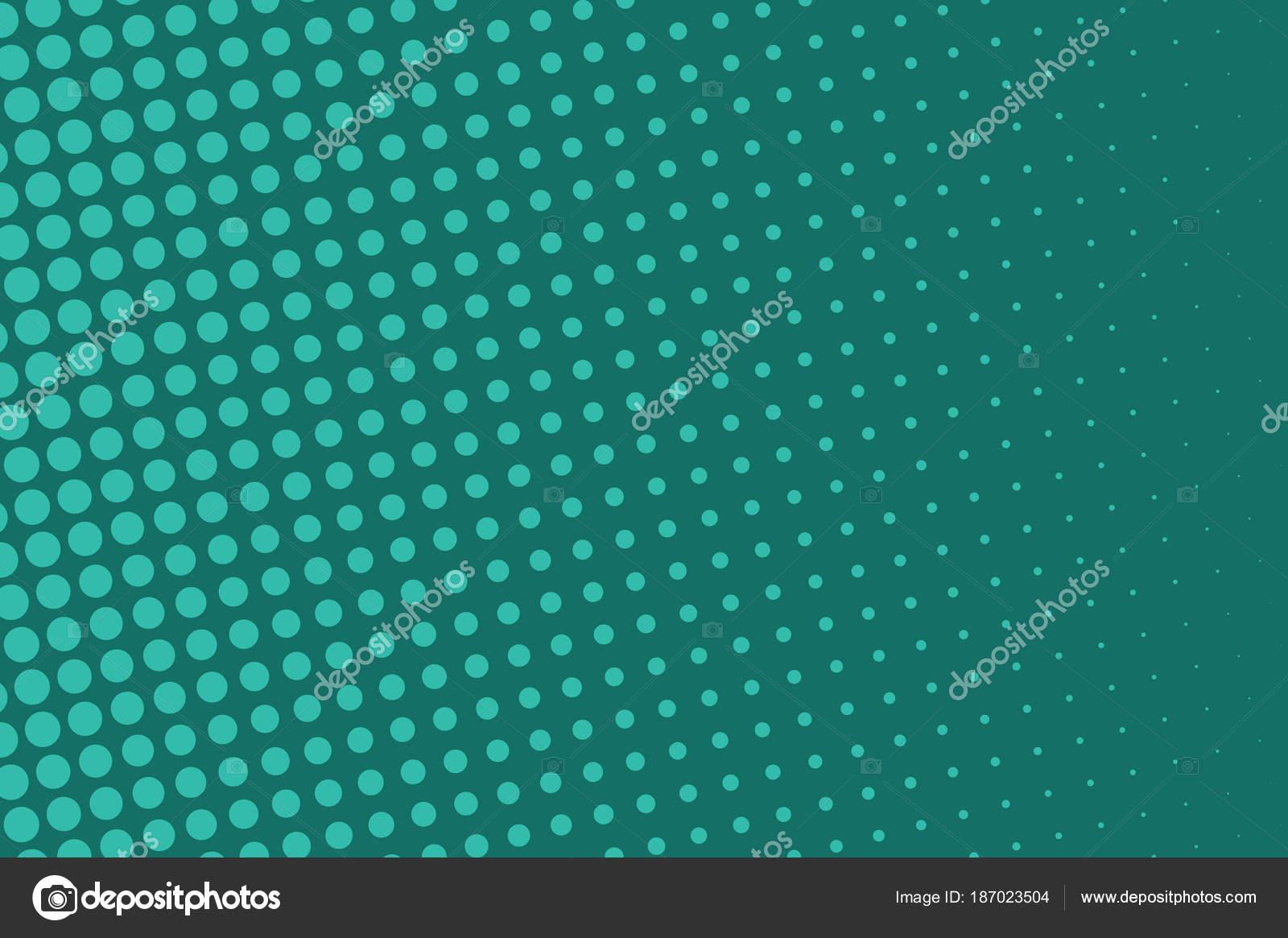 Fondo de medios tonos verdes. Gradiente de digital. Puntos patrón ...