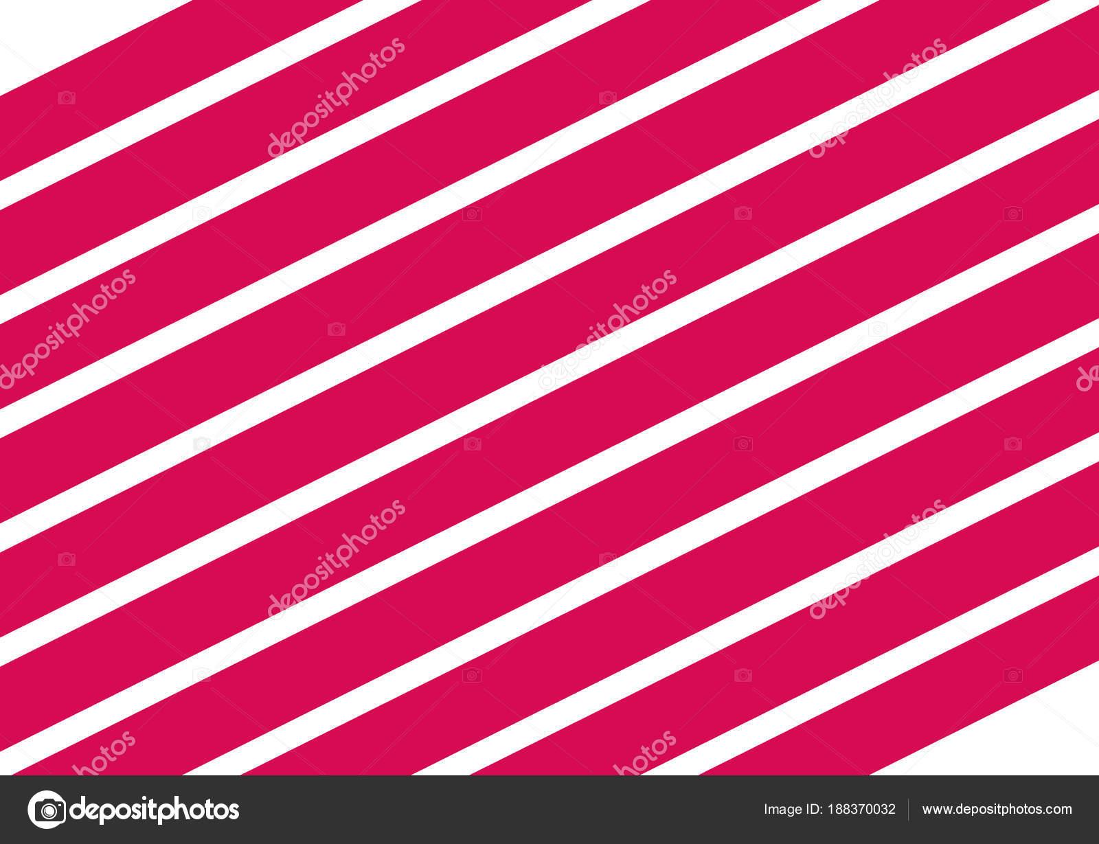 Illustrazione Strisce Rosa E Bianco Strisce Rosa Su Sfondo Bianco