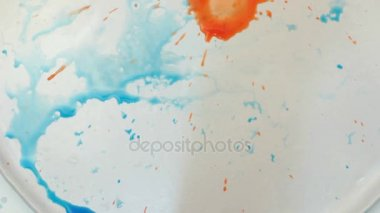 Abstract art and color combination concept