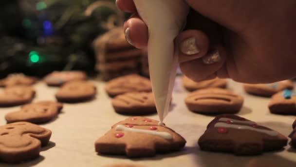 Postup zdobení vánočního cukroví