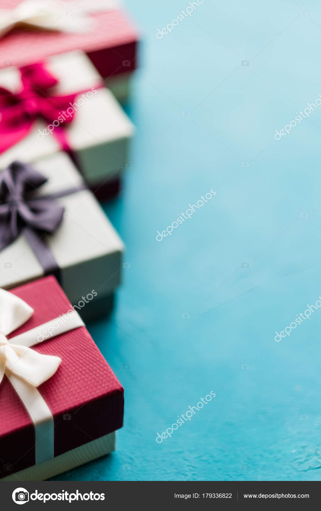 Present Wrapping Craft Creative Idea Boxes Design Stock Photo