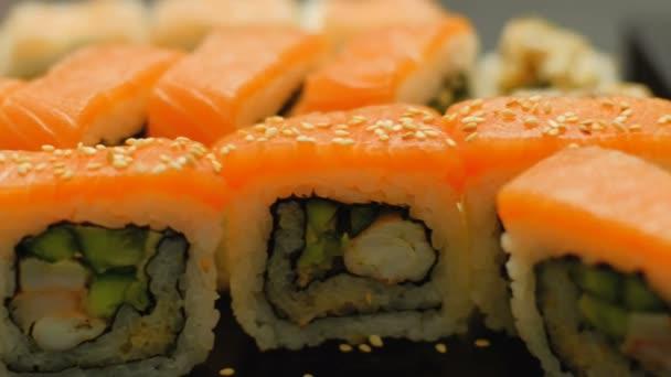 Sushi Closeup asiatische Küche Mahlzeit Rezept Diätnahrung ...