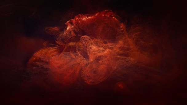 flaming background red haze cloud motion effect
