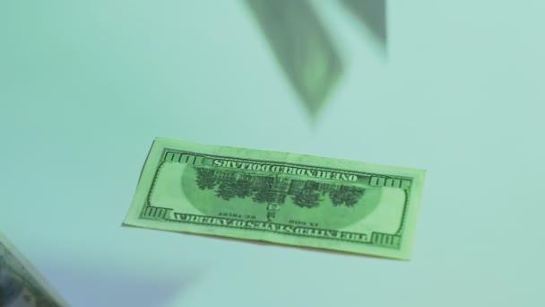 flying dollars business profit hundred bucks bills
