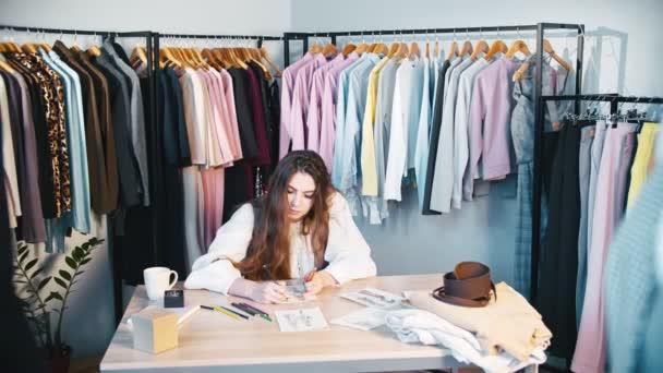 custom clothing manufacturing designer sketching