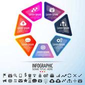 Šablona návrhu infografika