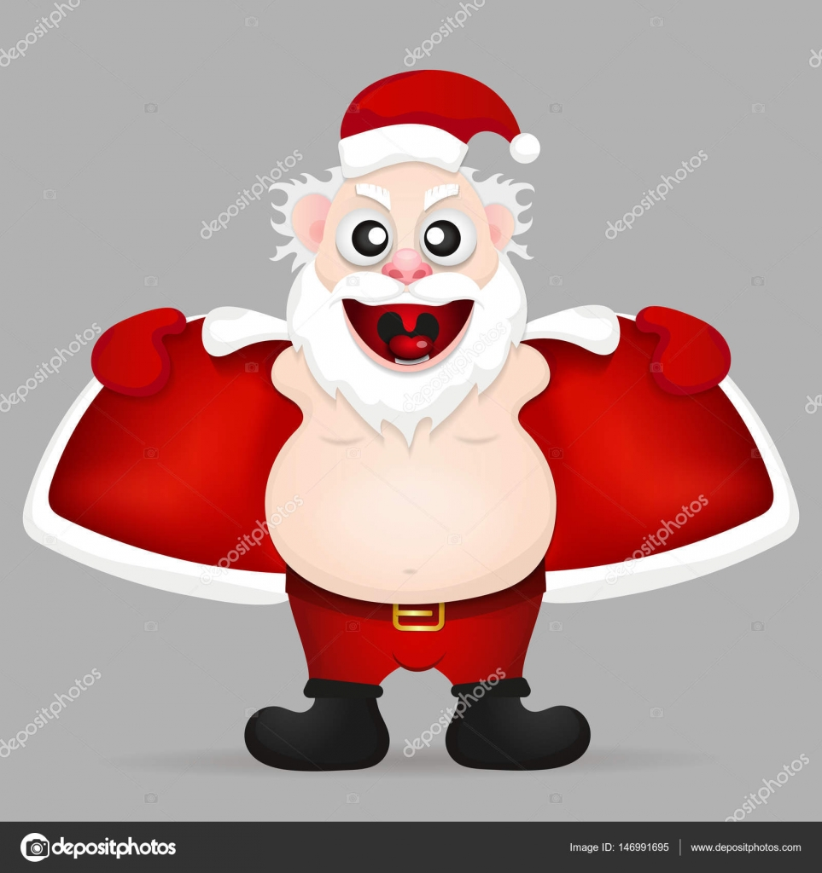 lustige Weihnachtsmann — Stockvektor © Iaroslav_Brylov #22