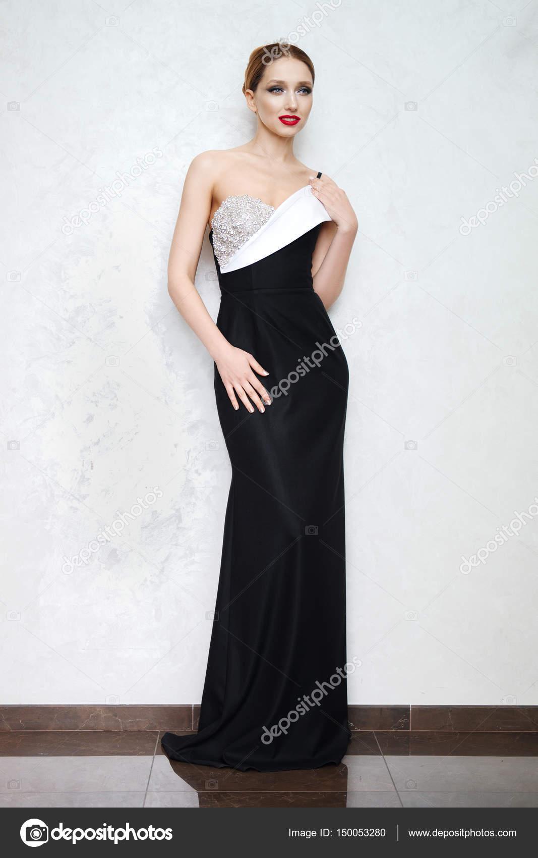 Elegante Dame reif