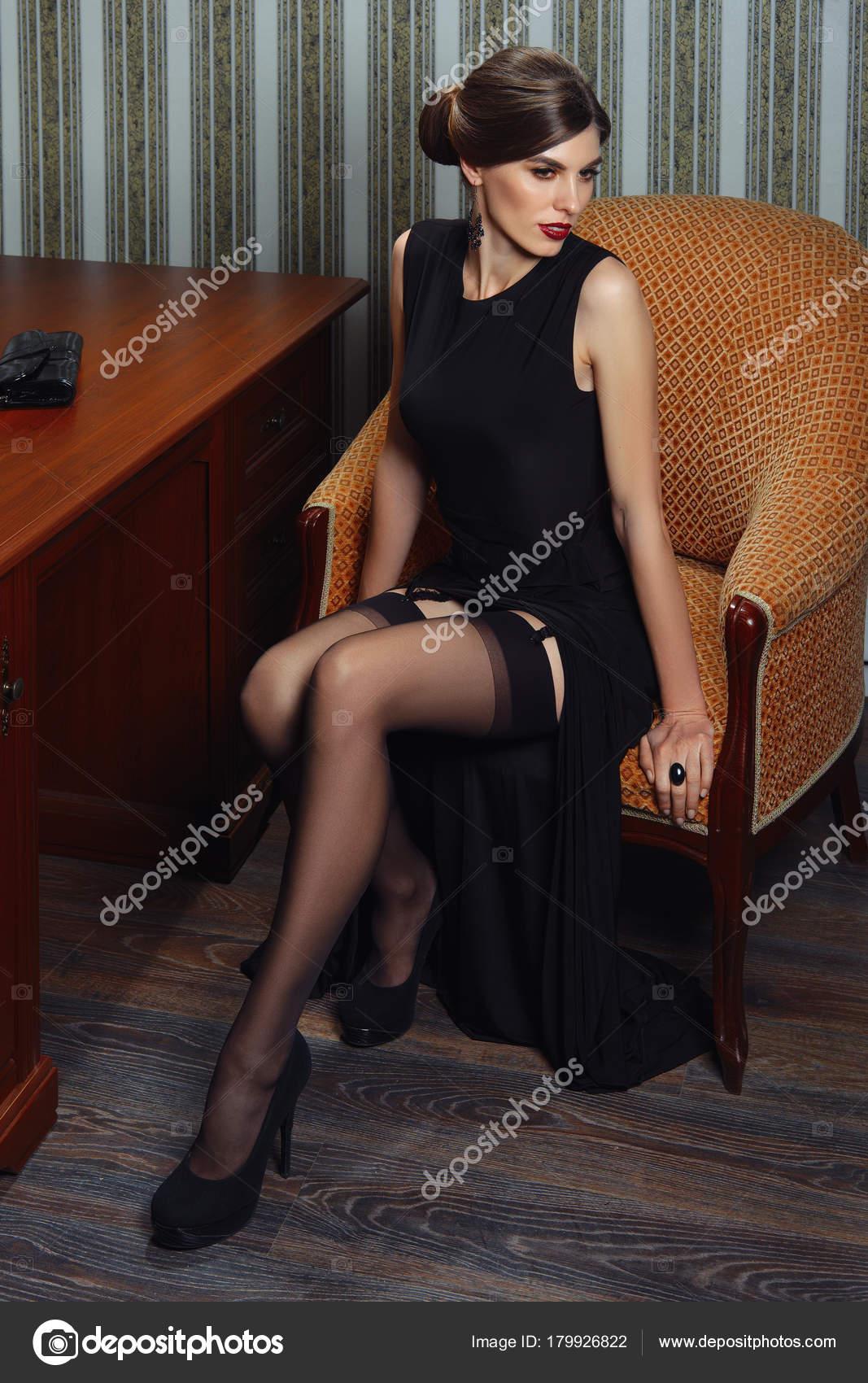 Stocking lady pics