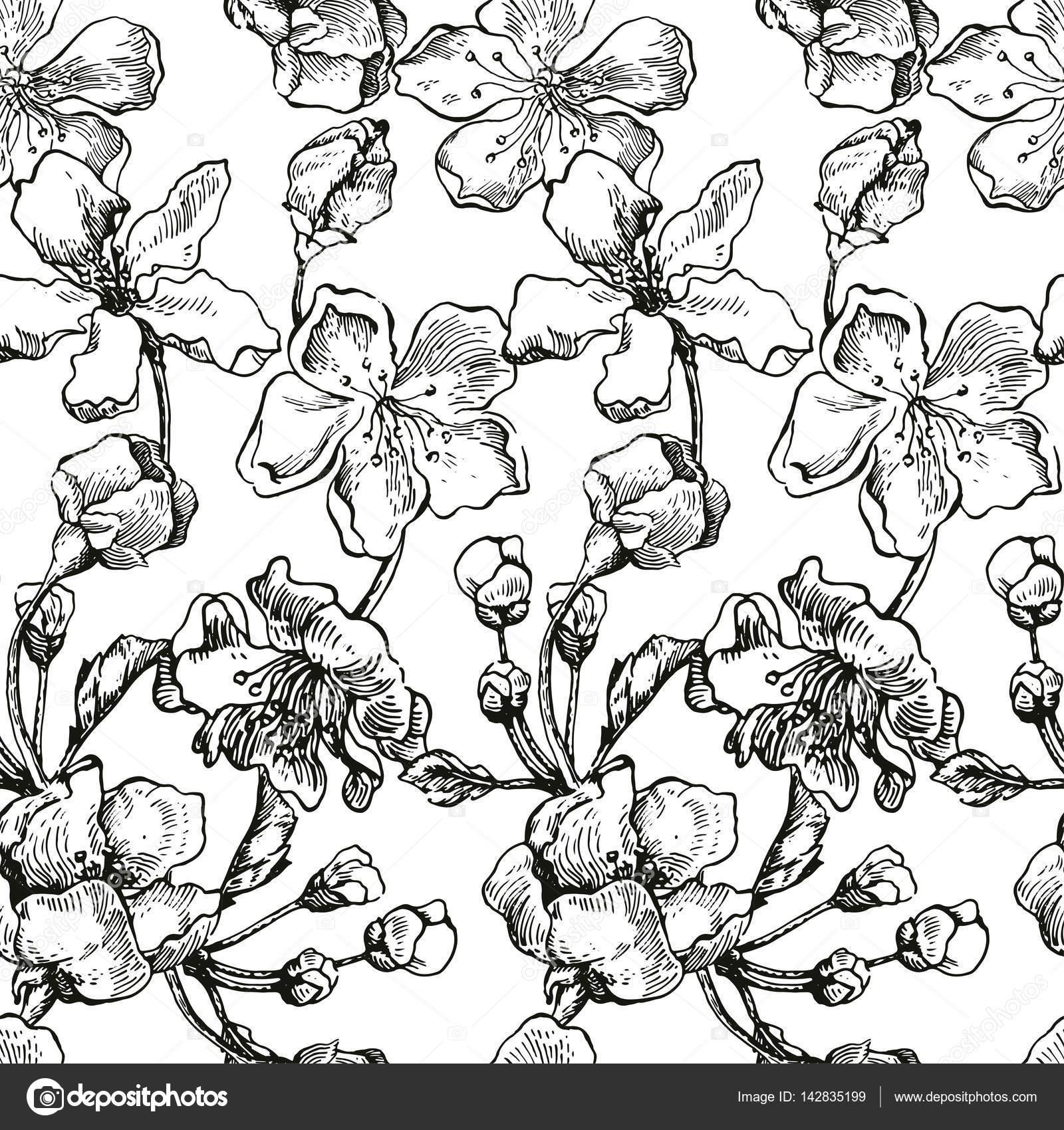 apple tree sketch design stock vector katyr 142835199 Apple Tree Leaves apple tree sketch design stock vector