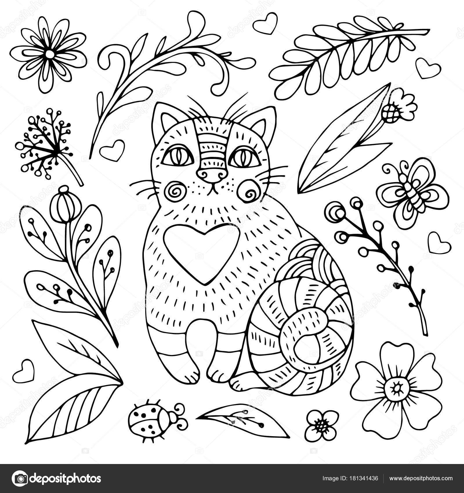 手描きの背景には 猫がいたずら書き シャツ 招待状 カード バナー チラシ