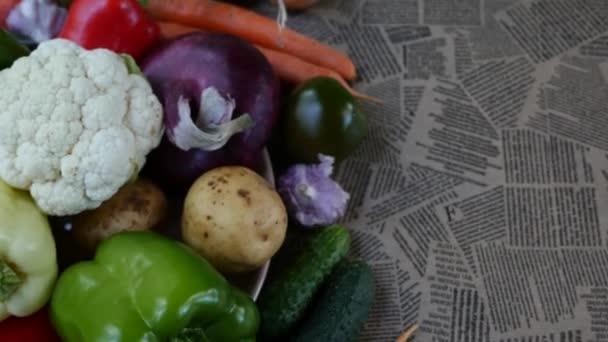 barevné jaro kořenová zelenina