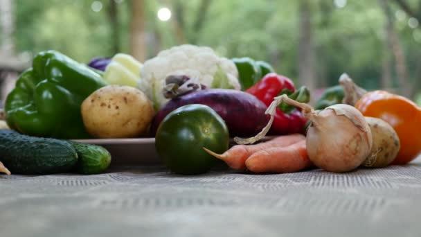 Színes tavaszi zöldségek összetétele