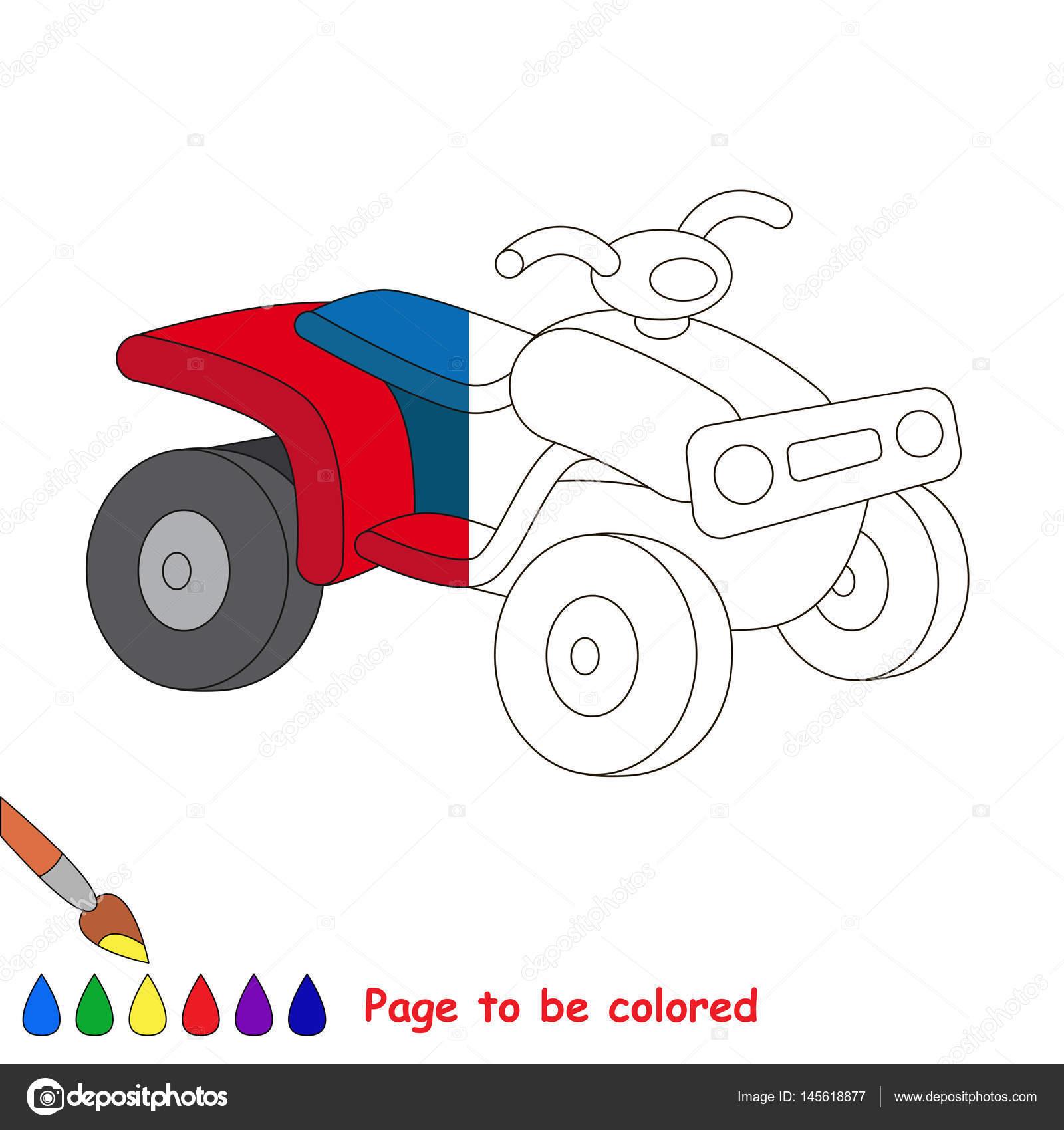Máquina. Media página para colorear — Archivo Imágenes Vectoriales ...