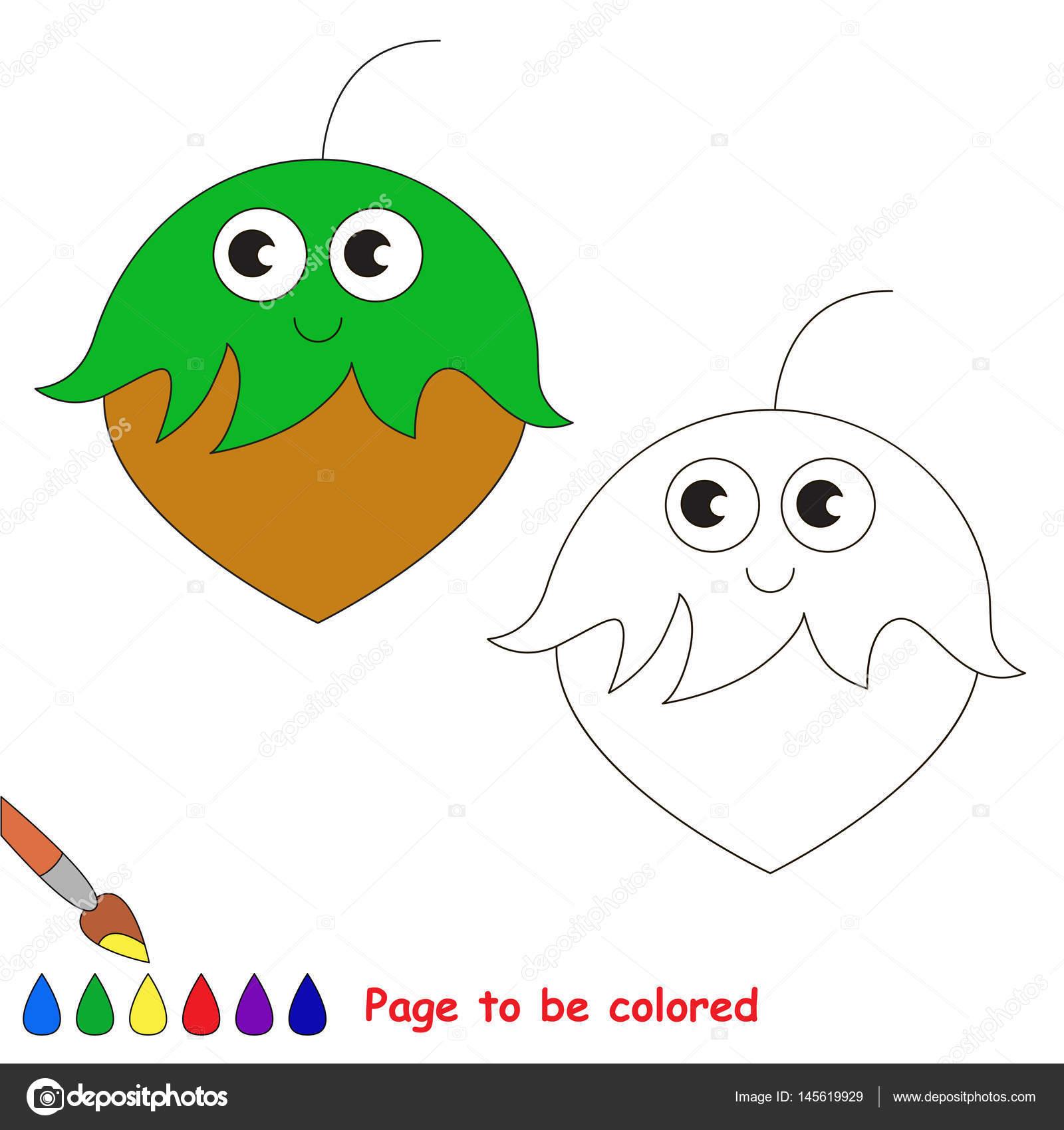 Caras De Gatos Para Dibujar Faciles Página Para Colorear Vector