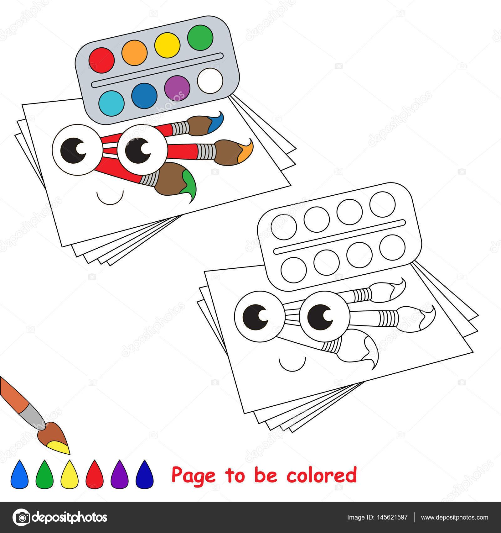 Renkli Sayfa Stok Vektör Annamikhailova 145621597