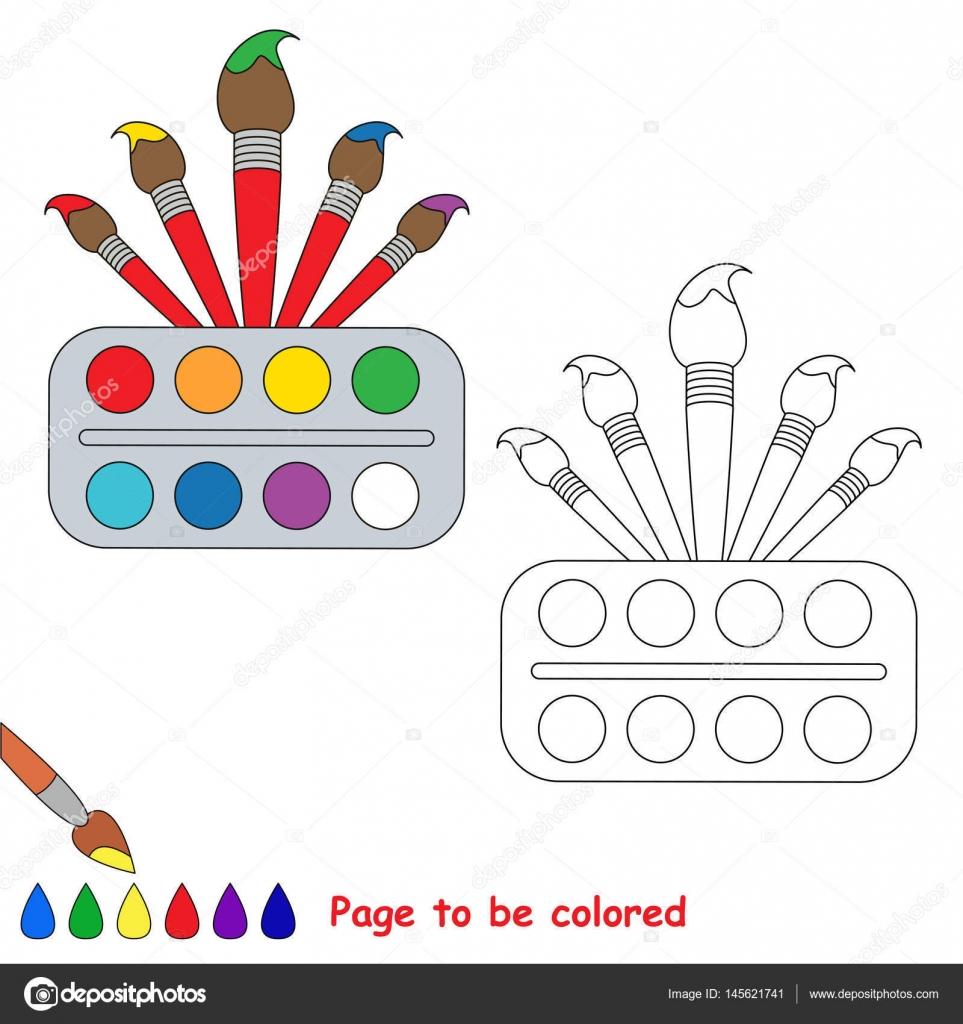 Renkli Sayfa Stok Vektör Annamikhailova 145621741