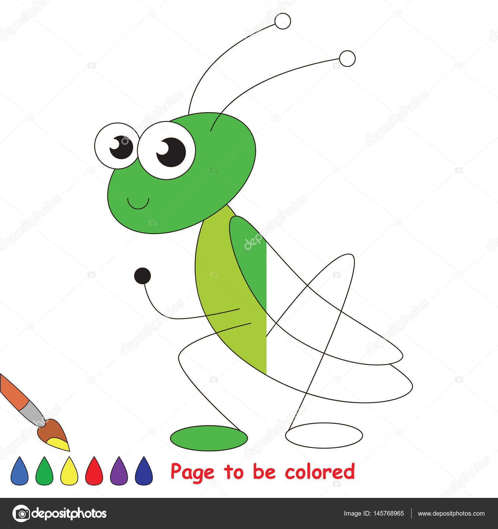 Page to be colored. — Stock Vector © Anna_Mikhailova #145768965