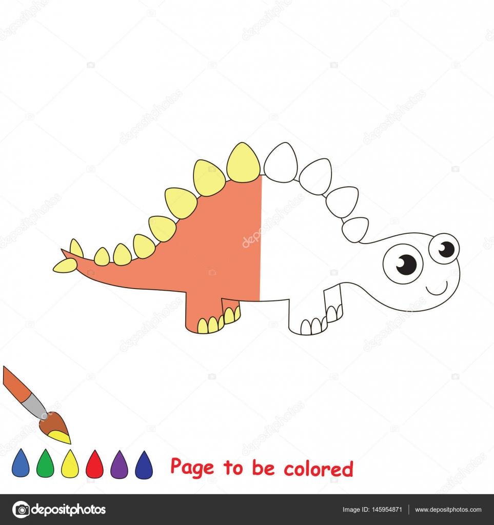 Página para colorear — Archivo Imágenes Vectoriales ...