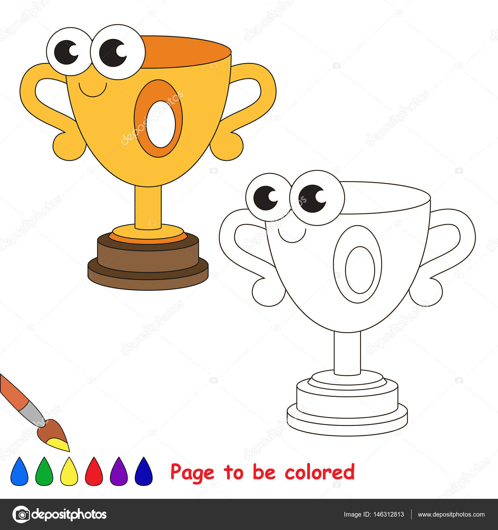 школьные предметы мультфильм страница быть цвета