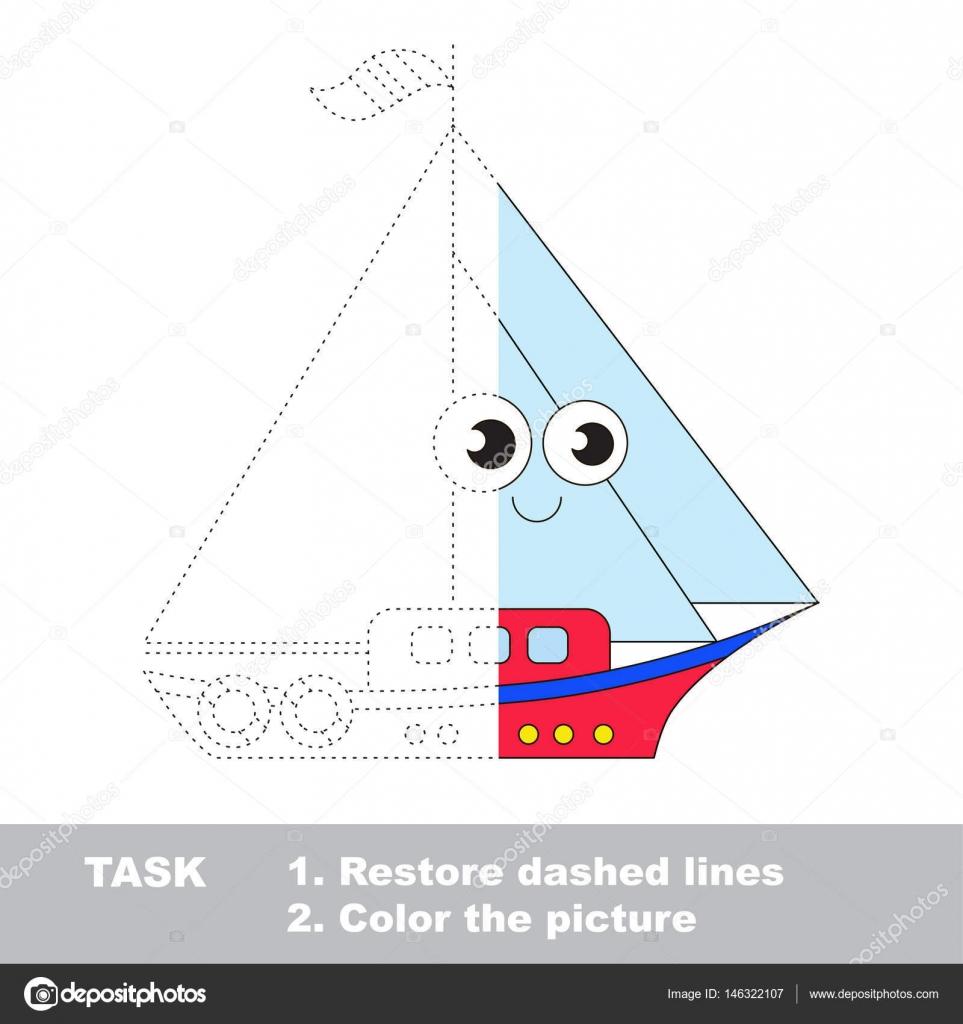 Transporte de niños de juguete para colorear. Juego de rastreo ...