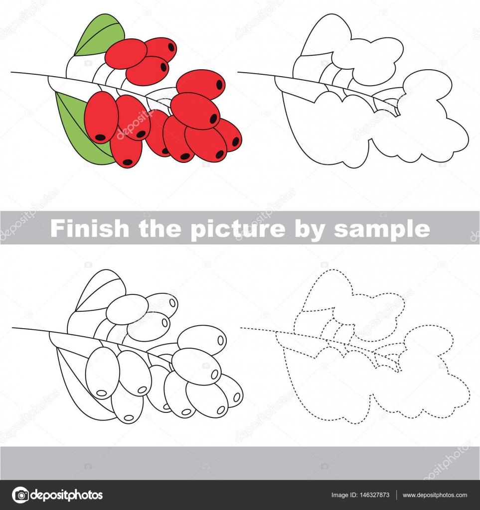 Kind Arbeitsblatt zeichnen — Stockvektor © Anna_Mikhailova #146327873