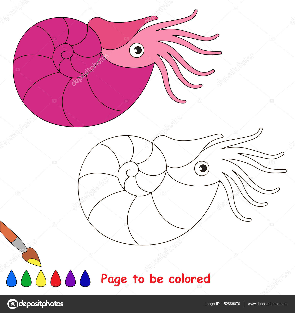 Sayfa Renkli Basit Eğitim çocuklar Için Oyun Olmak Stok Vektör