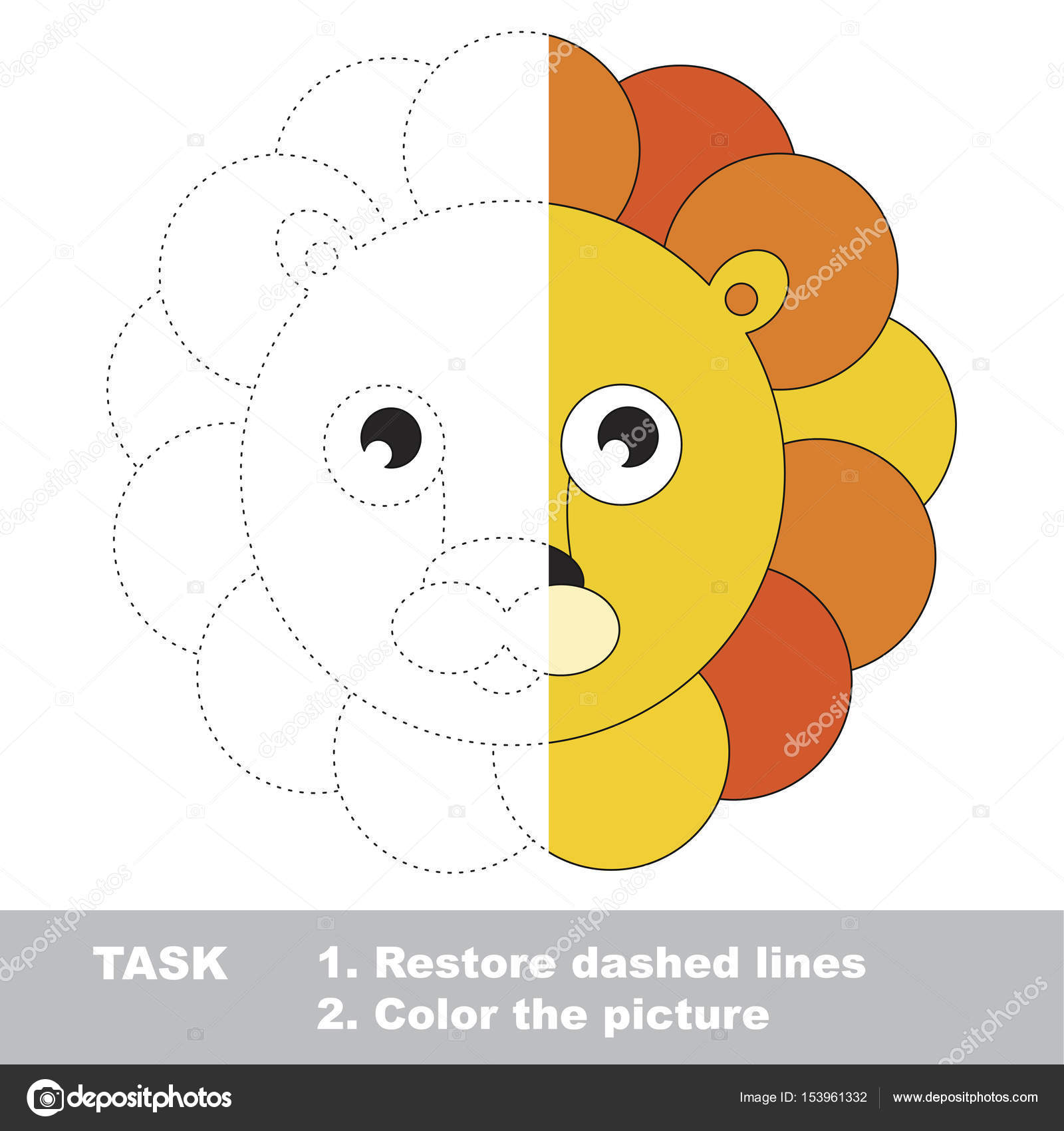 depositphotos stock illustration vector trace educational game for