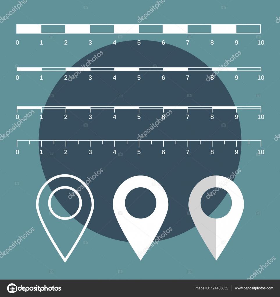 mäta avstånd karta