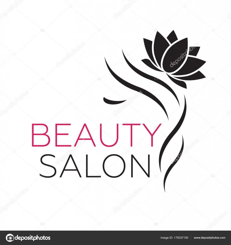Modèle De Logo De Belle Femme Pour Salon De Coiffure Salon De