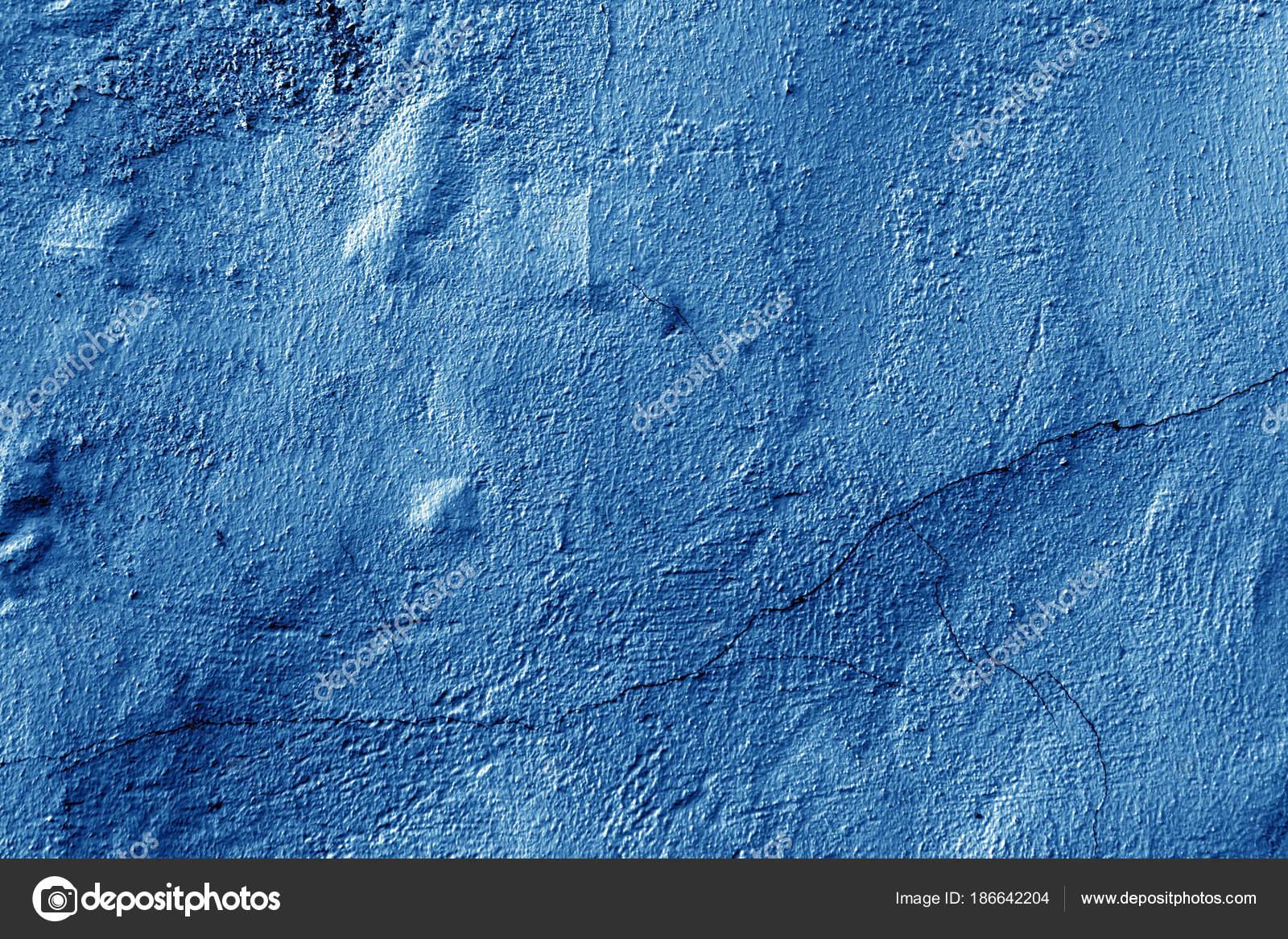 Struttura del muro di cemento in colore blu navy — Foto Stock ...