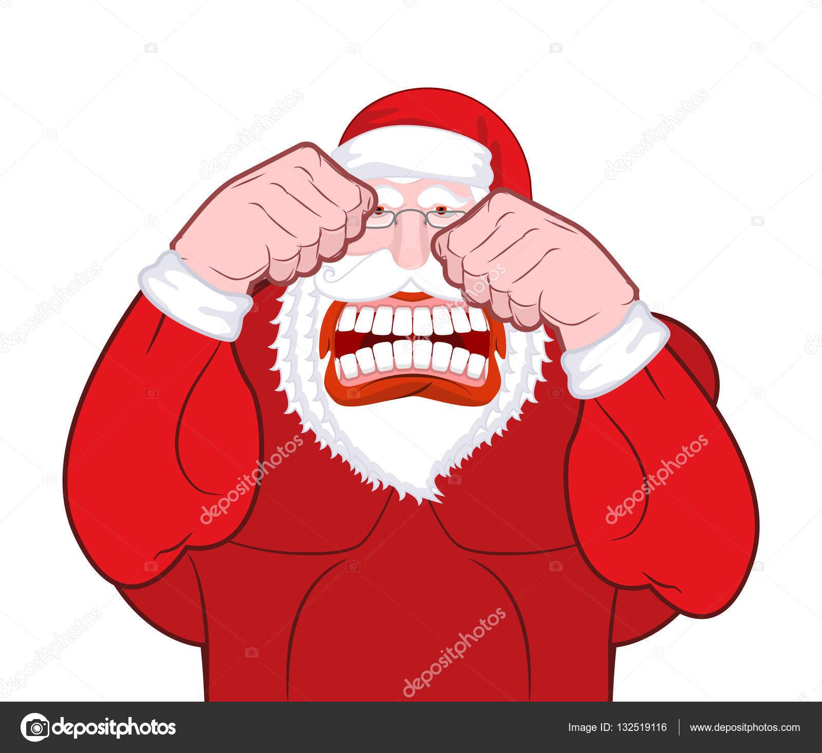 Lutas De Papai Noel Pai Natal Bate Os Punhos Knuckl Velho