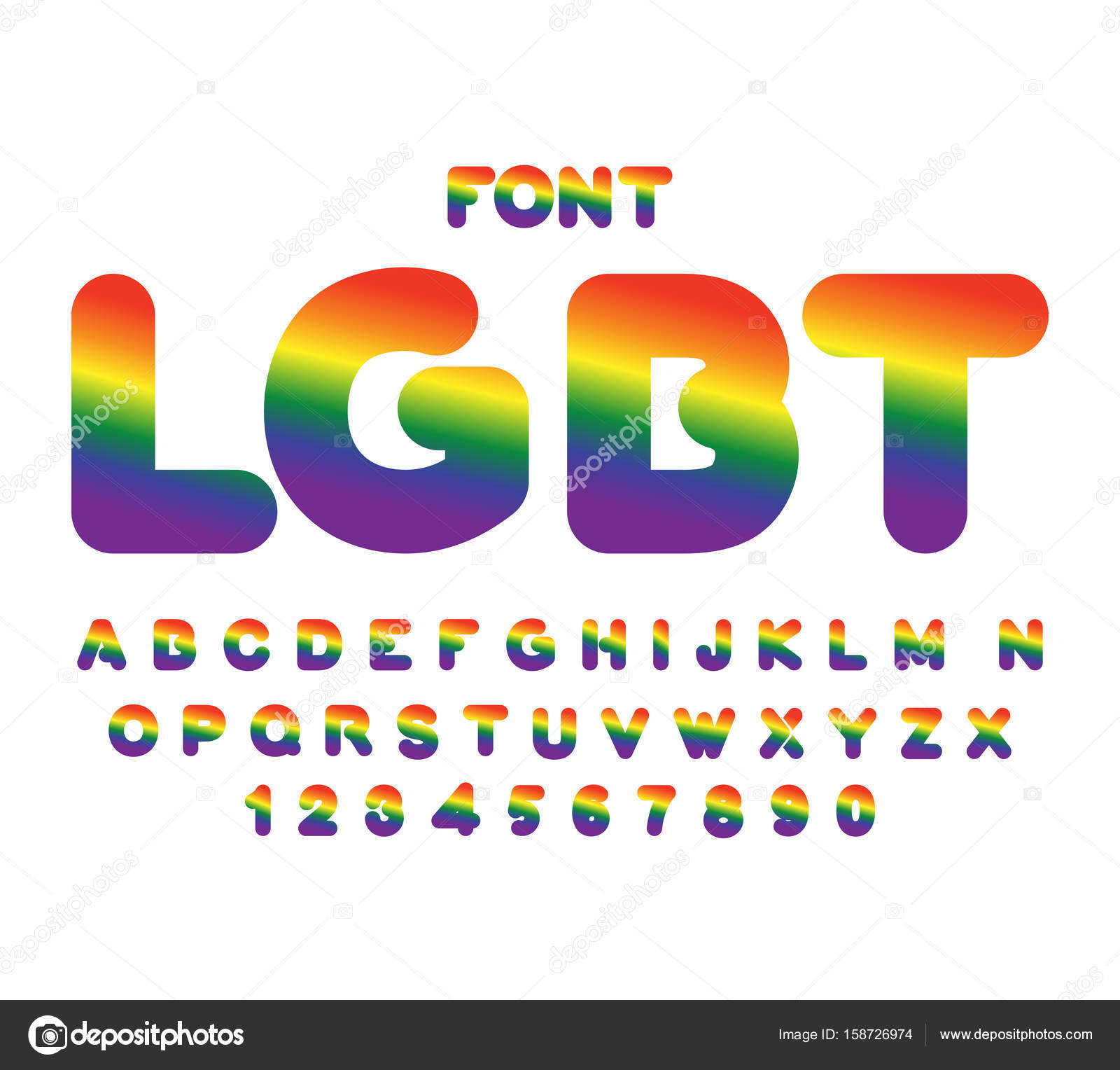 from London gay font