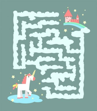 Unicorn in the labyrinth