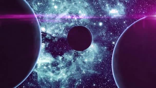 Tři planety ve vesmíru