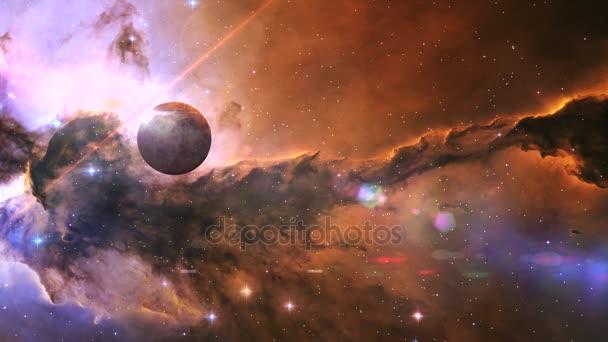 Cestování v prostoru směrem k mlhovina