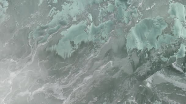 Block of Ice Close Up