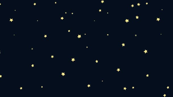 Animated Cartoon of Starry Night