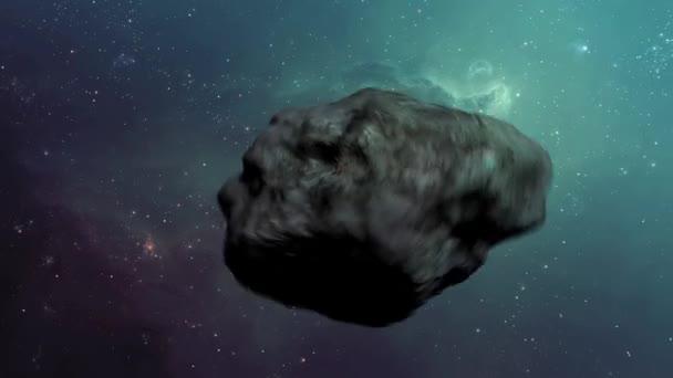Planetka cestují rychle ve vesmíru