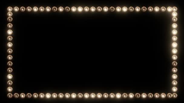 Rám z žárovky pro Film hranice