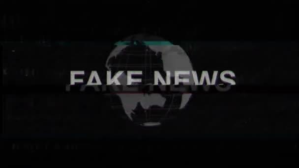 Falešné zprávy titul s závady