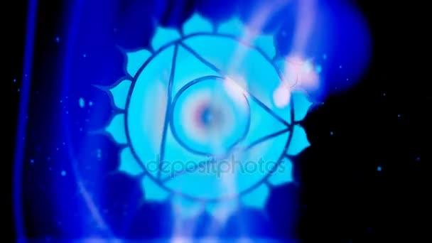 V krku Chakra Vishuddha Mandala otáčí v oblasti energetiky
