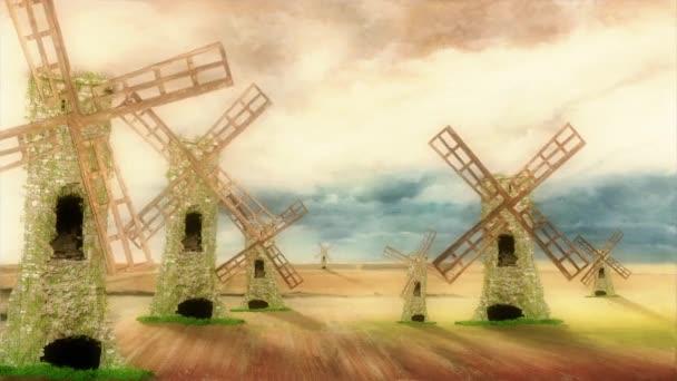 Don Quijote lovaglás a ló és egy szép napon ingyenesen szélmalmok