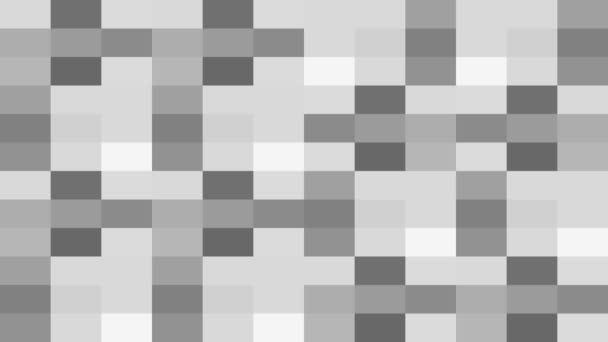 Schwarz-weiße Rechtecke Hintergrund blinkt